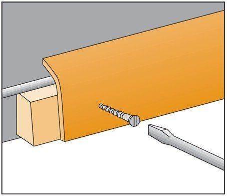 Inneneck für FS 2055 Sockelleiste Standard
