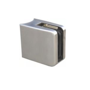 71.07.0650.0 glashalter v4a,45:45mm,f.rohr 42,4mm,einschl.stift +sicherungsplatte, viereck form, stärke 23mm 1